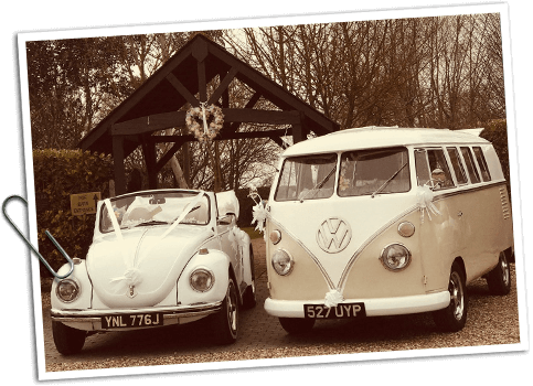 VW Beetle & Camper Van Wedding hire