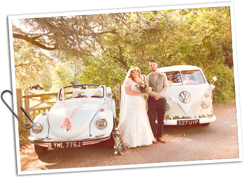 VW Camper Van Wedding Hire