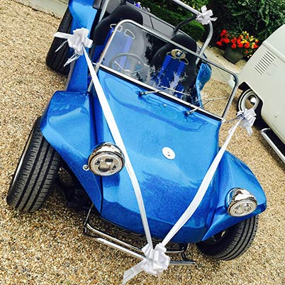 'Rocky Blu', a 1968 VW Beach Buggy